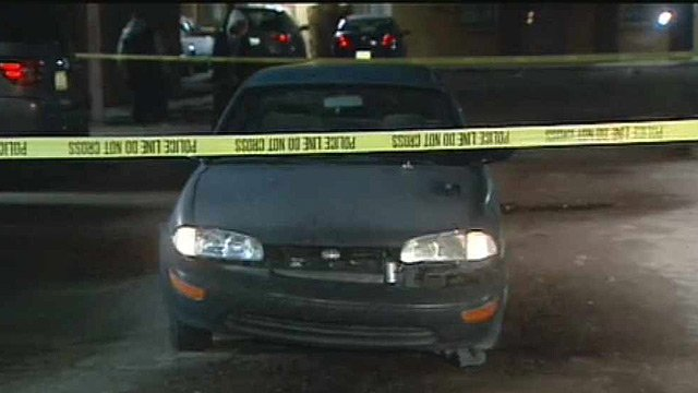 (Source: CBS 5 News) A Phoenix man was hospitalized after the mother of his children ran him over during a domestic squabble in a parking lot Monday night.