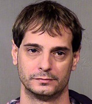(Source: Maricopa County Sheriff's Office) Angelo John Fiore was arrested Wednesday. He is the fifth person arrested in connection with an alleged Phoenix prostitution ring.