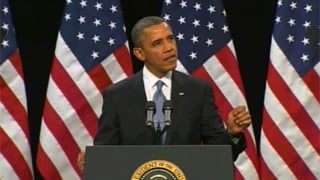 President Barack Obama delivering an immigration speech on Tuesday.
