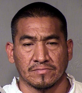 (Source: Maricopa County Sheriff's Office) Julian Sanchez has been charged with attempted first-degree murder and aggravated assault and was booked into the Maricopa County Jail.