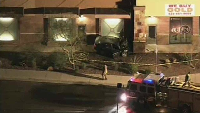 (CBS 5 News) Witnesses told Maricopa County Sheriff's deputies the man's car was speeding when it crossed traffic near Daisy Mountain Drive and Gavilan Peak Parkway and struck the pillar.