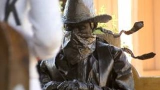 So what, or who, is this bronze cowboy?