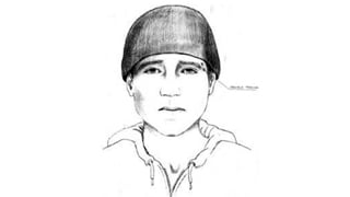 Composite sketch of suspect sought in connection with indecent exposure