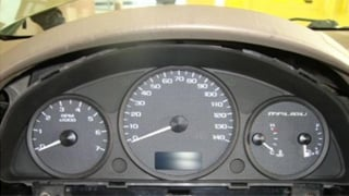 The dashboard appears normal in the photo. (Source: U.S. Customs and Border Protection)