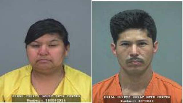 Deyanira Cordero and Luis Morales-Espinoza (Source: Pinal County Sheriff's Office)
