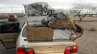 More than 1,100 pounds of marijuana were seized. (Source: MCSO)