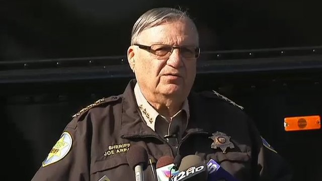 Maricopa County Sheriff Joe Arpaio