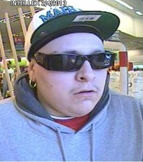 Surveillance image of suspect. (Source: Tempe Police Department)