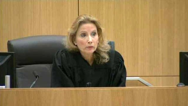 © (Source: CBS 5 News) Judge Sherry Stephens abruptly called a recess before the morning session of the Jodi Arias murder trial could start Tuesday.
