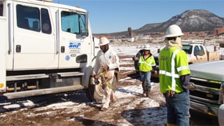 SRP's two four-man water crews are in Window Rock. (Source: Salt River Project)