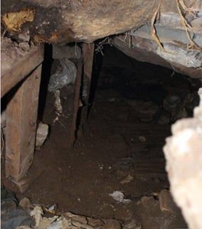 The tunnel was shut down with assistance from the U.S. Customs and Border Protection. (Source: Tunnel Task Force).