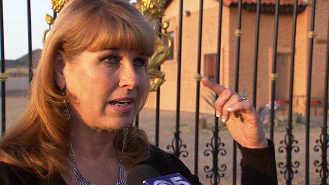 (CBS 5 News) Valerie Hamilton heard a knock at her back door and was shocked to see her beaten and bleeding neighbor.