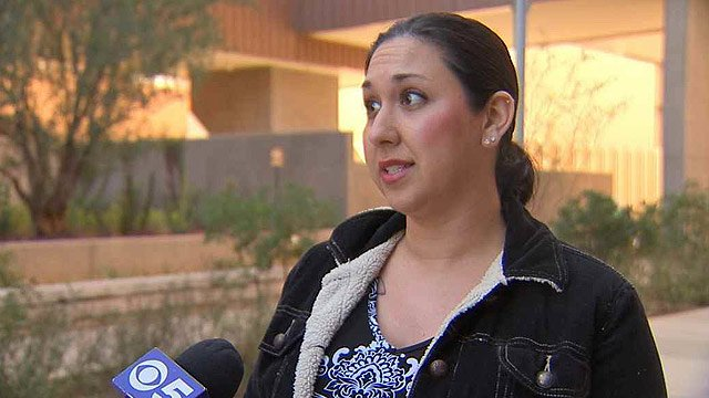 "(Source: CBS 5 News) ""It's just really exciting,"" said Jamileh Scott, who came to the Jodi Arias trial with a friend who grew up down the street from where Arias lived."