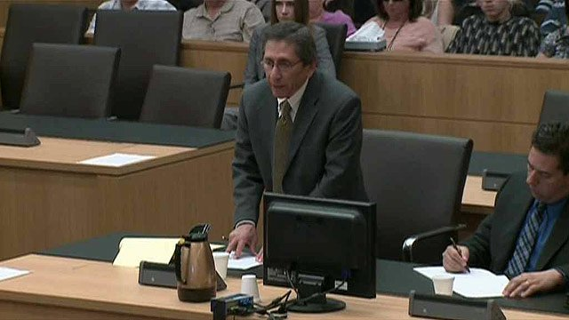 (Source: CBS 5 News) Prosecutor Juan Martinez is scheduled to begin questioning accused murderer Jodi Arias about 10:30 a.m. in Maricopa County Superior Court on Thursday.