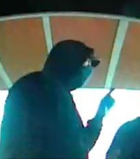 (Source: Scottsdale Police Department) Surveillance image of the suspect.