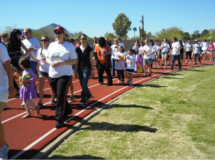 SSBTR Walk-a-thon 2012