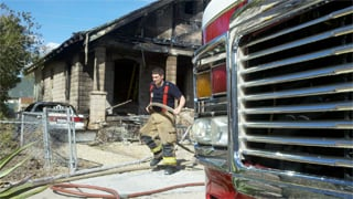 (Source: Boe Baker, cbs5az.com) At lest half a dozen cats died in the fire.