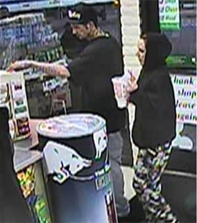 They're accused of using credit cards stolen from a victim of an armed robbery. (Source: Silent Witness)