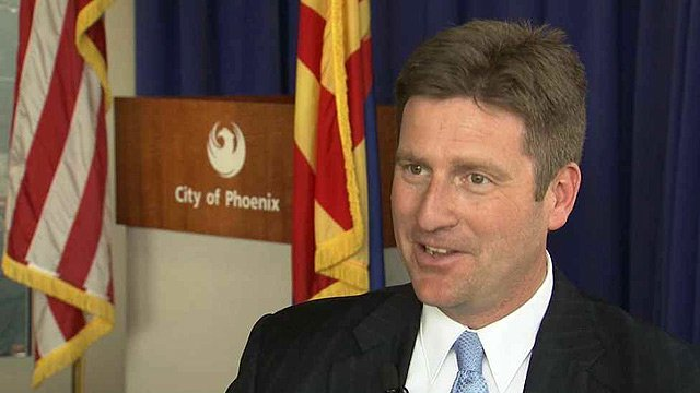 Phoenix Mayor Greg Stanton says revisions to the city's Human Relations Ordinance that would add sexual orientation to the city's anti-discrimination policy will open doors to new businesses in Phoenix. (Source: CBS 5 News)