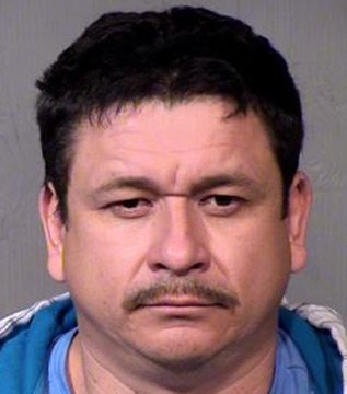 Sheriff's deputies arrested Ignacio Carbajal, 42, Monday night after he recently posted comments on his Facebook page that he planned to kill Arpaio. (Source: Maricopa County Sheriff's Office)