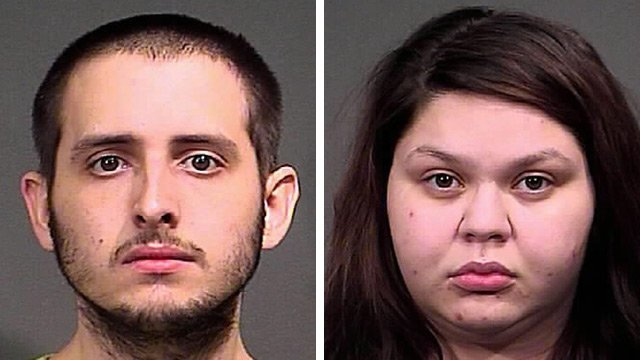 Michael Anthony Lozano, 23, and Kristina Lynn Pineda, 20 (Source: Mohave County Sheriff's Office)