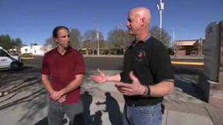 Casa Grande firefighters Pete Benzing and Jonathan Larson.