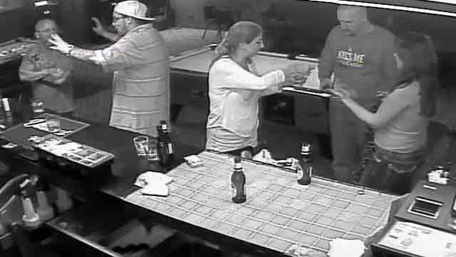 Surveillance image from inside the Outlaw Saloon. (Source: Pima County Sheriff's Department)
