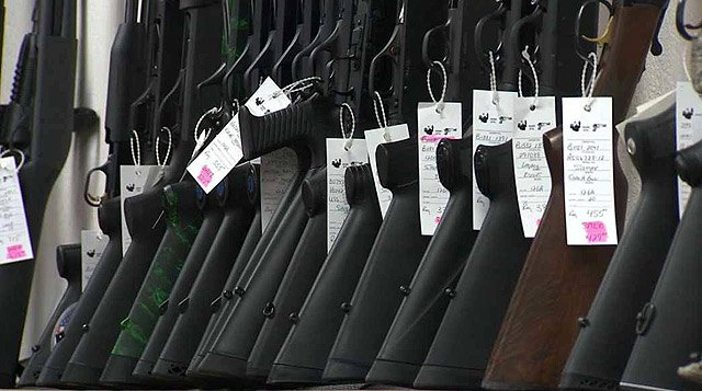Gun-control advocates will be at the Valley offices of Republican Arizona Senators Jeff Flake and John McCain asking them to pass universal background checks for potential gun buyers. (Source: CBS 5 News)