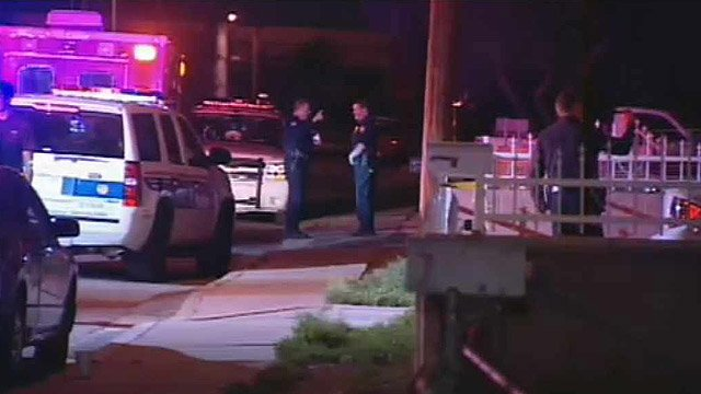A man in his 20s and another man in his 40s were shot to death inside the home near 18th and Adams streets just before 2:30 a.m. (Source: CBS 5 News)