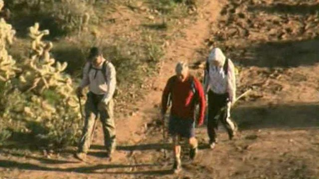 The three hikers are all from Michigan in their 50s. (Source: CBS 5 News)