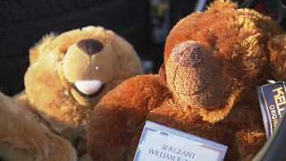Comfort Bear Toy Drive under way. (Source: KPHO-TV)