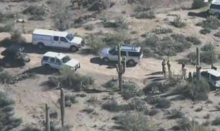 Hikers found live hand grenades at a site on the Tonto National Forest.