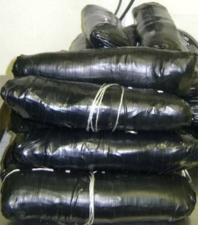 Meth seized at border worth $393K. (Source: Dept. of Homeland Security)