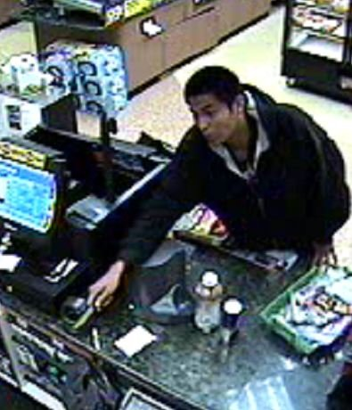 Surveillance images of the suspect from the Circle K at 5202 E. Baseline Road from March 11.