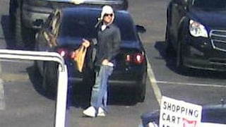 Surveillance images of carjacking suspect in Scottsdale on Wednesday. (Source: Scottsdale Police Department)