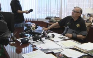 Maricopa County Sheriff Joe Arpaio says he's eager to return to work after suffering a broken shoulder Feb. 28. (Source: CBS 5 News)