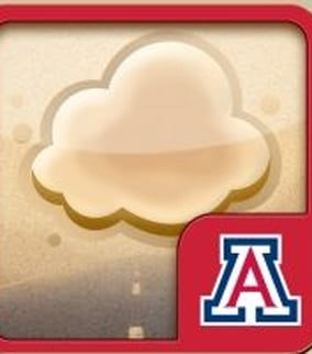 New dust storm app (Source: U of A)
