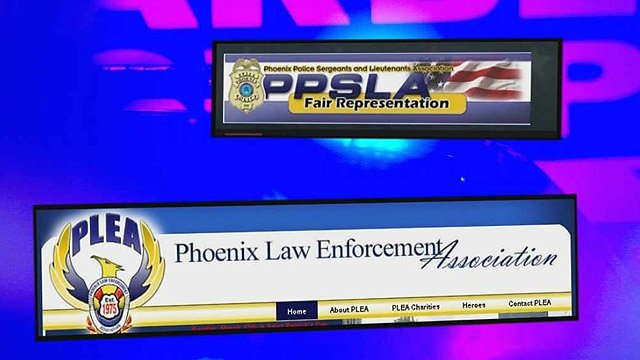 Both Phoenix police unions have questions about proposed budget changes in their department. (Source: CBS 5 News)