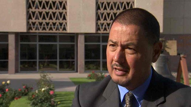 State Sen. Steve Gallardo opposes a bill that would allow state lottery winners to remain anonymous. (Source: CBS 5 News)