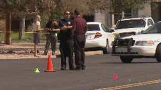 Crime scene near 2nd Ave. and Pomeroy in Mesa. (Source: KPHO-TV)
