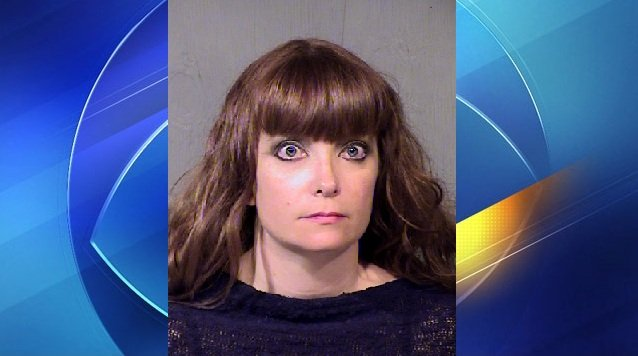 Aimee Butel's booking photo after she was arrested in hit-and-run accident. (Source: Maricopa County Sheriff's Office)