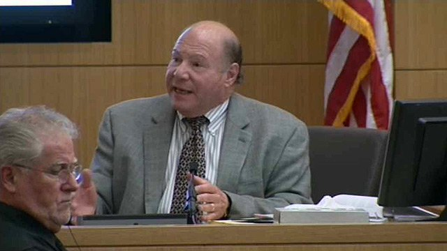 Psychologist Richard Samuels once again returns to the witness stand as the first-degree murder trial of Jodi Arias continues Monday morning. (Source: CBS 5 News)