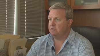 Chad Willems, Sheriff Joe Arpaio's campaign manager. (Source: KPHO-TV)