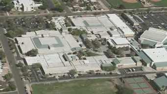 Marcos de Niza High School in Tempe. (Source: KPHO-TV)