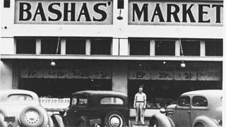 First Mesa Bashas' location in 1936. (Source: Facebook)