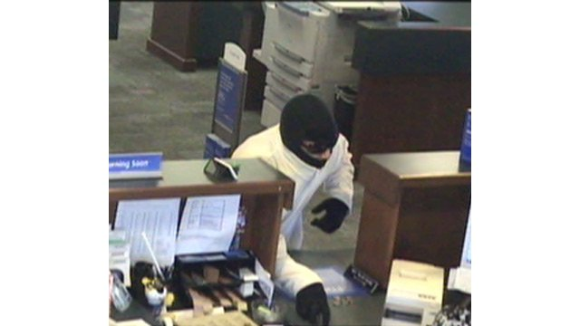 Police said the man walked into the BMO Harris Bank at 33703 N. Scottsdale Rd. about 9:30 a.m. and took an undisclosed amount of cash from a teller. (Source: Scottsdale Police Department)
