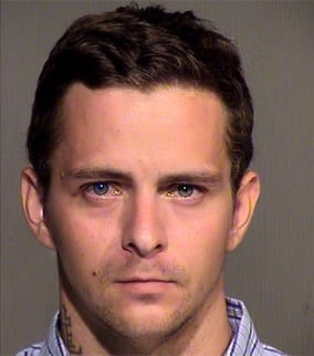 Booking photo of Piotr Zwolinski from a previous arrest. (Source: Mesa Police Department)