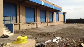Commercial yard near 51st Avenue and Bethany Home Road. (Source: Colton Shone, cbs5az.com)
