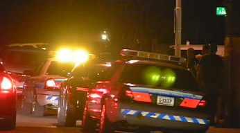 Shooting scene Wednesday night. (Source: KPHO-TV)