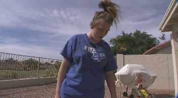 Surprise resident Ashley Blondin. (Source: KPHO-TV)